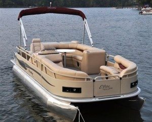 2014 Encore Bentley Cruise Pontoon Boat